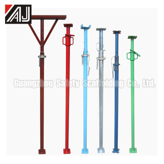 Adjustable Steel Props Jack for Building Construction, Guangzhou Factory pictures & photos