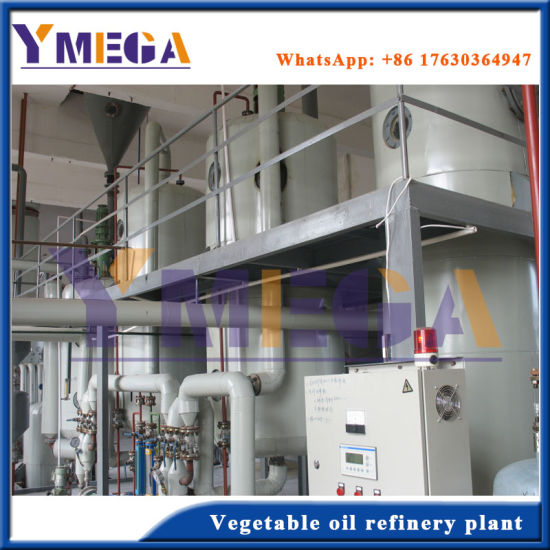 Vegetable Soybean Oil Refinery Machine Making High Grade Oil pictures & photos