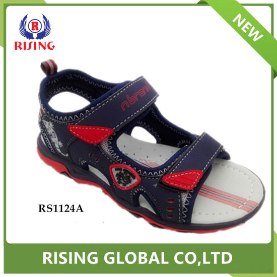 5deb2003cf27cd 2018 Trending Design TPR Sole Summer Beach Sandals for Child. Get Latest  Price
