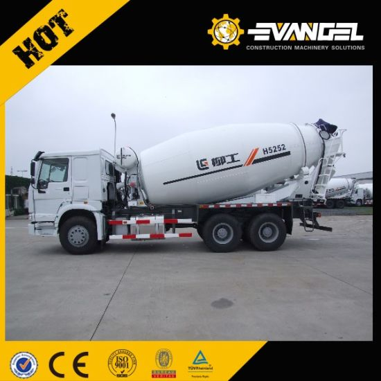HOWO 8X4 371HP Concrete Mixer Truck with 14cbm Body pictures & photos