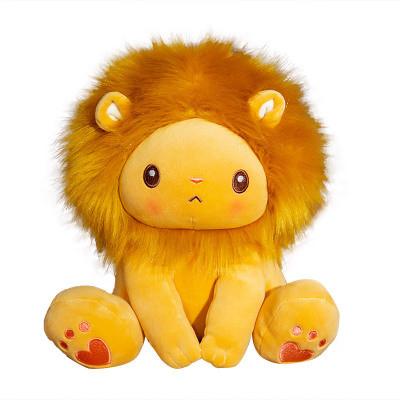 25-40cm Soft Stuffed Plush Baby Toy Cartoon Cute Lion for Zoo Souvenirs