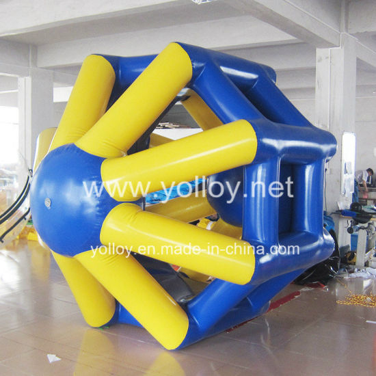 Inflatable Water Fun Drum Water Walking Roller (PVC Tarps) pictures & photos