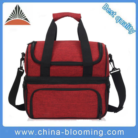86cf15660f5b Portable Picnic Promotional Shoulder Lunch Insulated Custom Cooler Bag