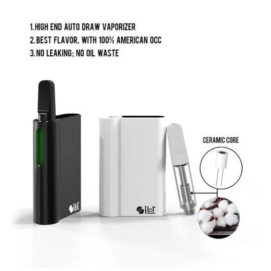[Hot Item] Electronic Cigarette Vape Pen Magnetic Thread Adapter Cbd  Battery Vapor Starter Kits