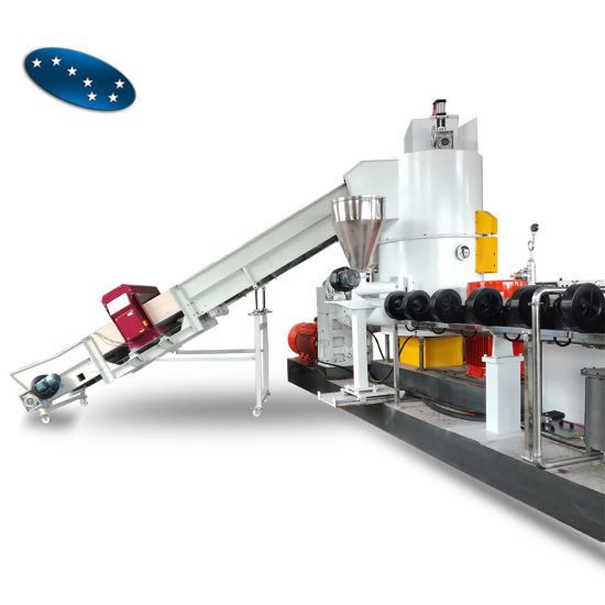 PP PE Pelletizing Plastic Granulating Production Line