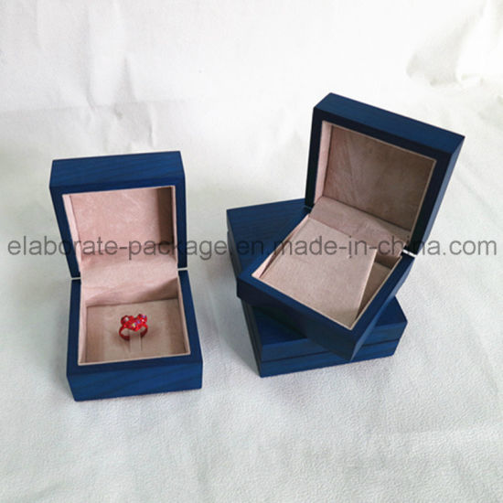 Luxury Design Ashtree Matte Finish Wooden Wedding Jewellry Gift Box pictures & photos