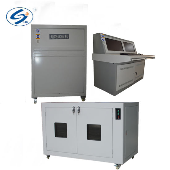 china iso battery safety tester machine for lithium battery short