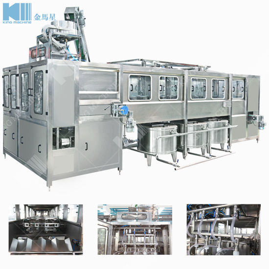 300bph Plastic 3-5 Gallon Mineral Water Filling Machine Price pictures & photos