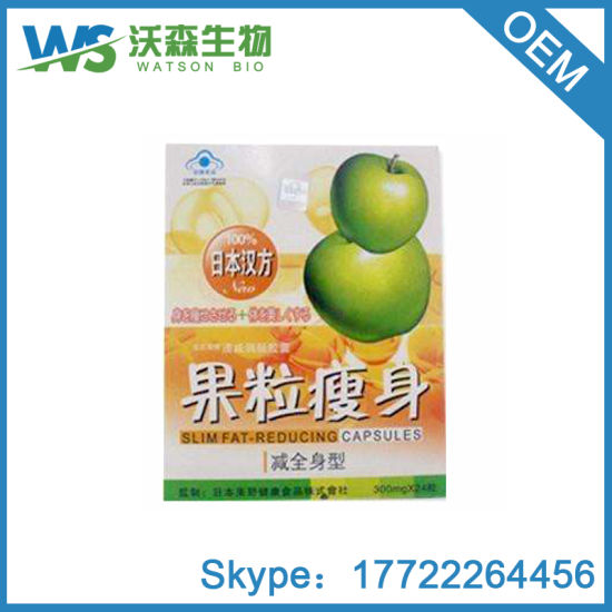 Wholesale Price Apple Fat Reducing Slimming Capsules pictures & photos
