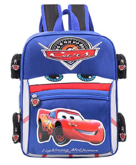 9772f50f89e0 3D Cartoon Schoolbag Kindergarten 1-3 Grade Model Car Backpack. Get Latest  Price
