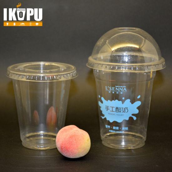 b77768eea61 China Disposable Clear 1oz-16oz Pet Plastic Bubble Tea Cups - China ...