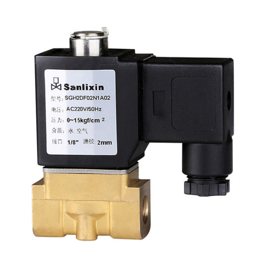 Sgh Compact Direct Acting Solenoid Valve--Normally Closed
