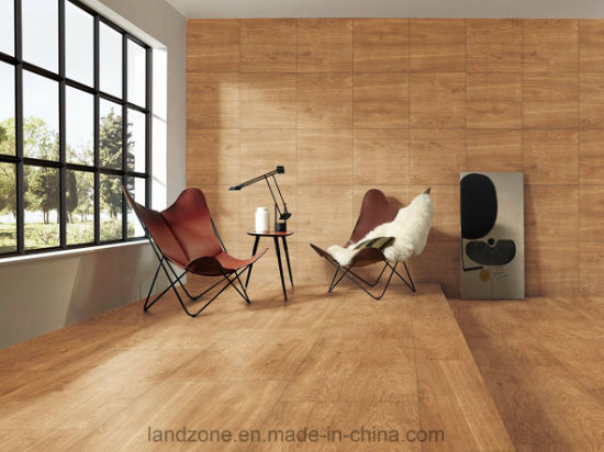 China New 3d Wood Look Ceramic Floor Tile Wholesale Price 600x600mm