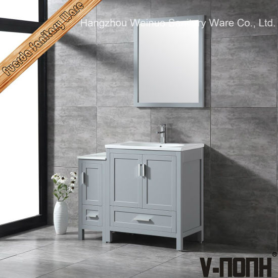 China Modern Style Solid Wood Bathroom, Bathroom Stand Alone Cabinet