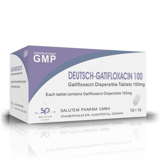 High Quality Good Price OEM Contract Manufacturing Gatifloxacin Dispersible Tablets