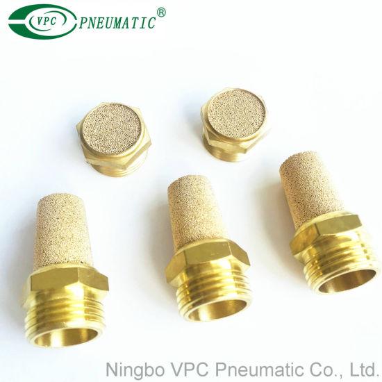 Bslm02 Pneumatic Brass Silencer Muffler