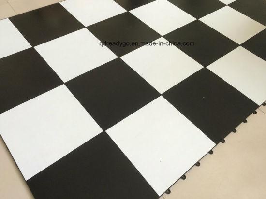 China Vinyl Floor Tiles Dance Floor Tile Cheap Portable Wooden