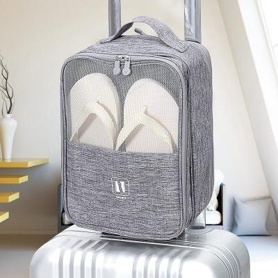 Double-Layer Shoe Storage Bag Travel Trolley Case Bag Manufacturer Wholesale