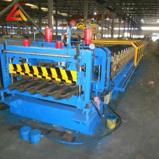 Xiamen Liming Top Quality Metal Roll Forming Roof Tile Making Machine for Sale