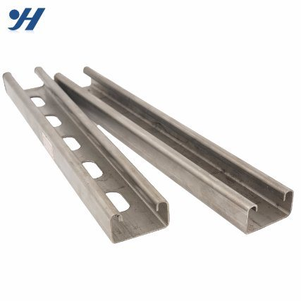 China Stainless Steel High Strength Unistrut Channel Steel Channel