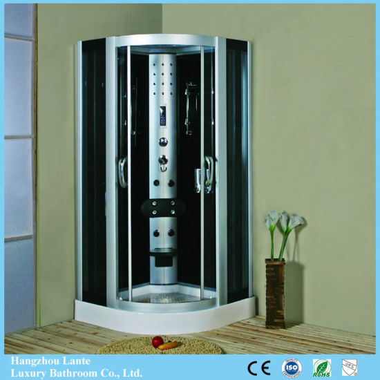 Luxury Bathroom Tempered Glass Steam Shower Room with Touch Screen Control Panel (LTS-9909A)