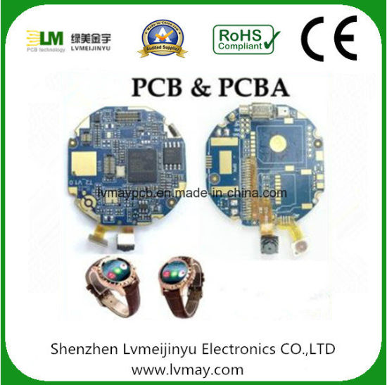 China Smart Watch PCB Motherboard Watch Phone Printed