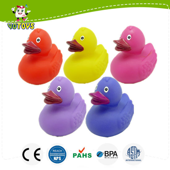 China Vinyl Toys For Sale White Hot Safety Bath Ducky Baby Bath