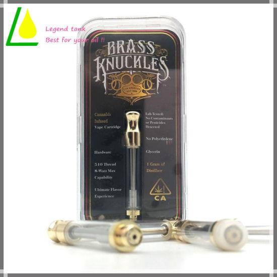 Electronic Cigarette Glass Cartridge Vaporizer Pen Atomizer Cbd Thc Slim  Vape