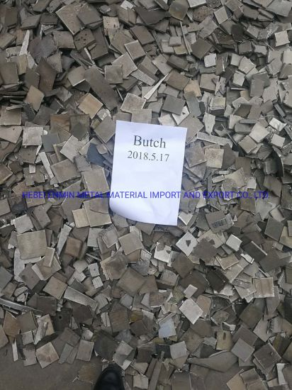 Nickel Sheet Scrap 99.97% for Sales Nickle Sheet Nickle Plate
