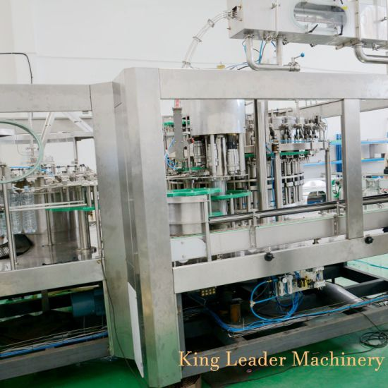 Dcgf Carbonated Soft Drink Gas Water Beverage Filling Machine