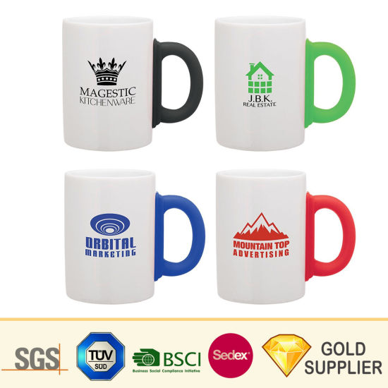Wholesale Custom Sublimation Printed Portable Vintage Porcelain Mugs Two-Tone Glazed Country Turkish Espresso Milk Coffee Tea Reusable Ceramic Cups pictures & photos
