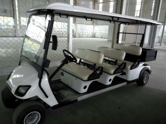Hot Sale 6 Seater Battery Powered Car for Holiday Village