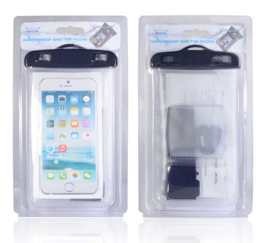 Floatable Waterproof Phone Case, Waterproof Phone Pouch Dry Bag with Armband pictures & photos