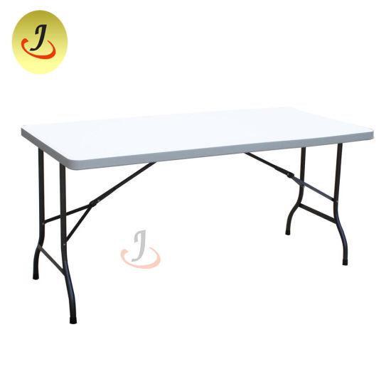 Excellent Outdoor Furniture High Quality Cheap Rectangular Folding Plastic Table Jc Pt1602 Dailytribune Chair Design For Home Dailytribuneorg