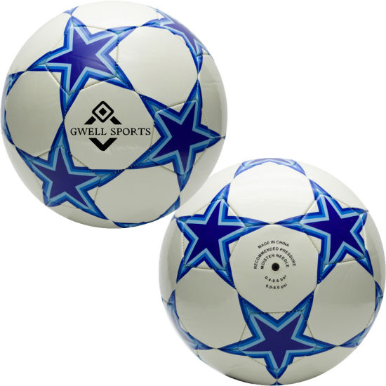 Inflatable Laminated High Quality Size 5 Soccer Ball