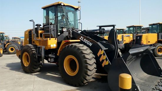 XCMG Front End Loader Price 5 Ton Wheel Loader Zl50gn with Rock Bucket pictures & photos