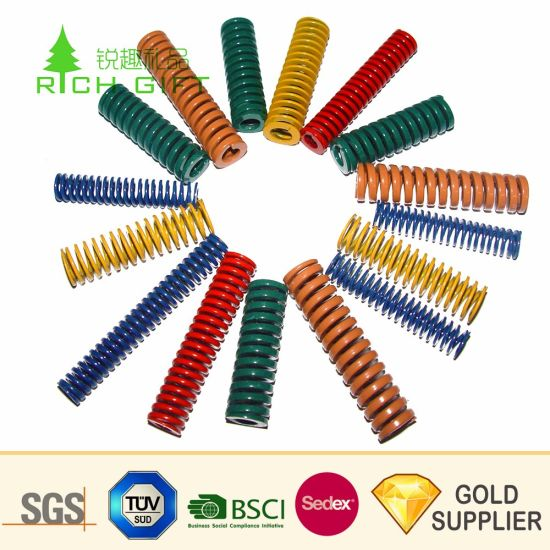 Manufacturer Customized Wholesale Industrial Compression Mould Metal Flat Wire Standard High-Carbon Steel Mechanical Die Spring