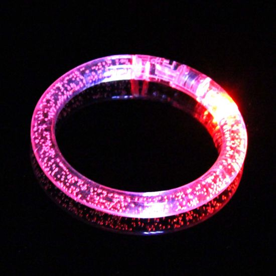 LED Flash Color Changing Party Club Hen Night Stage Bracelet Bangle