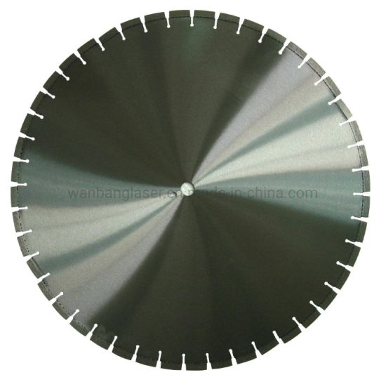 China Supplieer Cured Concrete Laser Welded Diamond Cutting Saw Blade