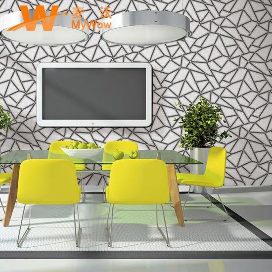 China Unique 3d Design Vinyl Wallpaper For Home Decor China 2019