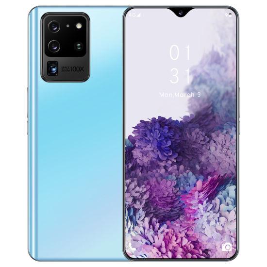 Fingerprint Face ID Quad Core Mobile Phone S21u Cellphone Wholesale Smart Phone S21