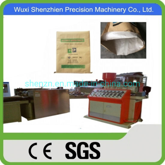 Agriculture Industrial Use Laminated Kraft Paper Bag with PP Woven Machine