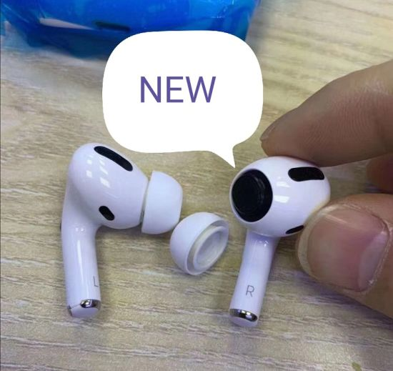 Original Bluetooth Phone Earphone for Air Pods PRO in Stock with Wireless Charging Case Series No Change Name and GPS Location
