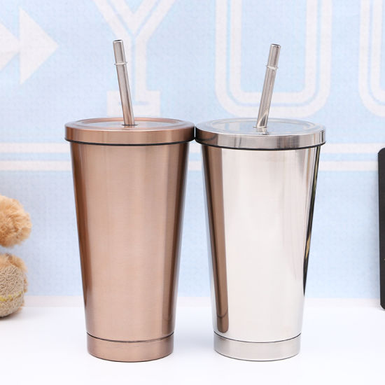 China Factory Tumbler with Straw New Design Tumbler for Gift