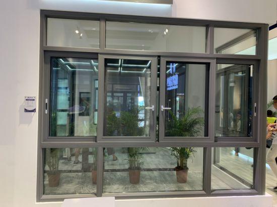Customized/Aluminium Metal Casement/Sliding Window/Door Iron Grill Design/Awning/Fixed/Fix Mosquito Net Aluminum Sliding Window