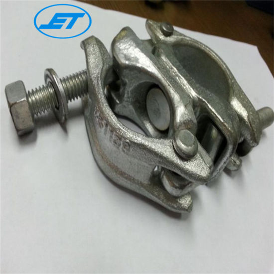 Double Clamp/Scaffolding Coupler/Crossed Fastener Swivel Coupler for Counstruction Scaffolding
