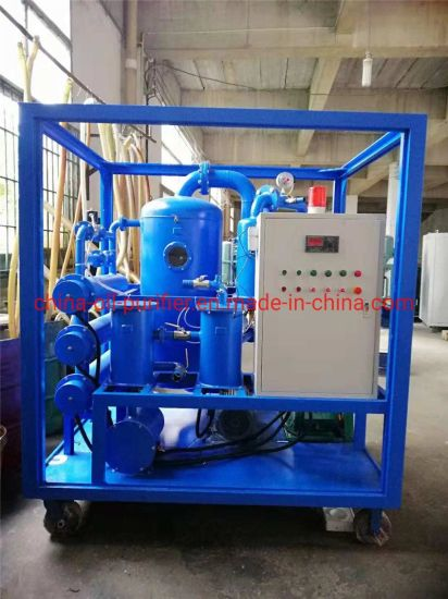 Double Stage Vacuum Insulation Oil Purifier Machine for Power Station