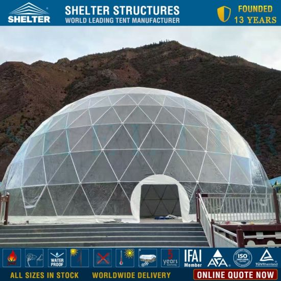 China 27m Diameter Event Party Exhibition Conference Dome For Sale China Geodesic Dome And Trade Show Dome Price