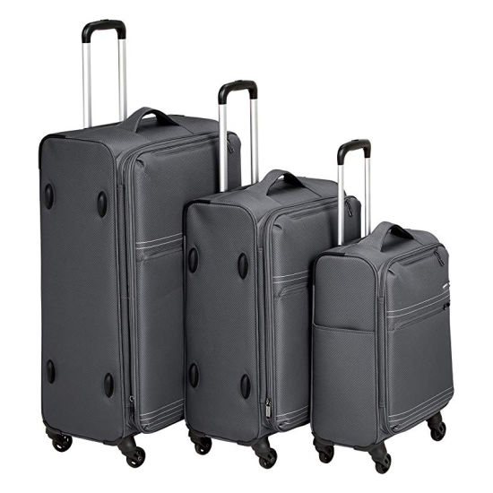Best Durable Lightweight Softside Spinner Travel Bags Trolley Oxford Luggage