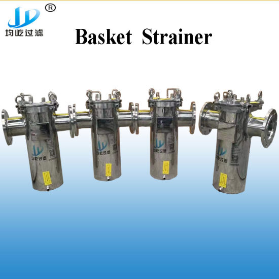 Basket Strainer in Stainless Steel Water Filter Equipment